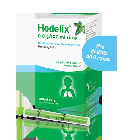 Hedelix® Sirup proti kašľu